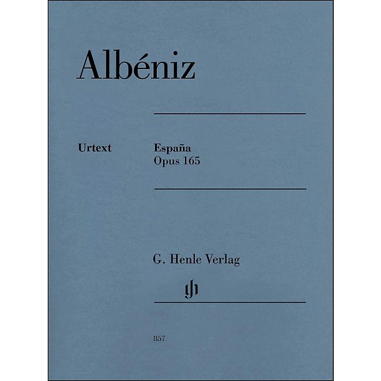 G. Henle VerlagEspana Op. 165 Piano Solo By Albeniz / Mullemann