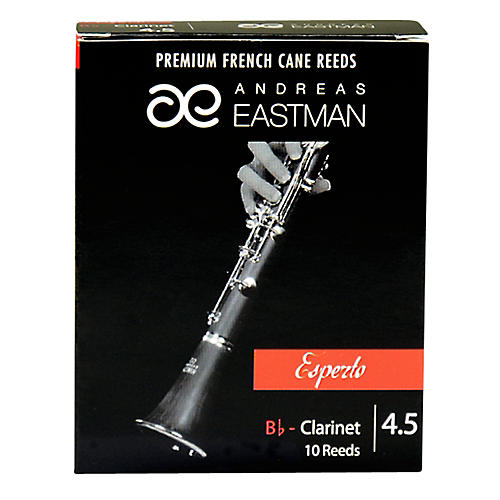 Andreas Eastman Esperto Bb Clarinet Reeds Strength 4.5 Box of 10