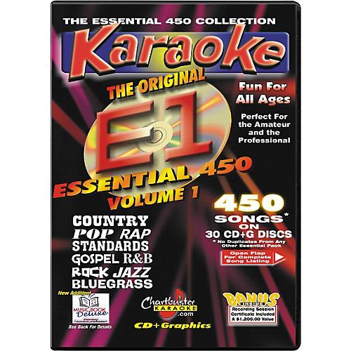 Chartbuster Karaoke Essential 450 Volume 1 CD+G