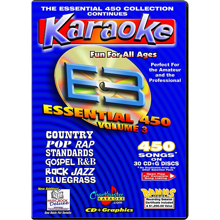 Chartbuster KaraokeEssential 450 Volume 3 CD+G