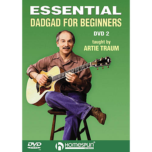 Homespun Essential DADGAD for Beginners Instructional/Guitar/DVD Series DVD Written by Artie Traum