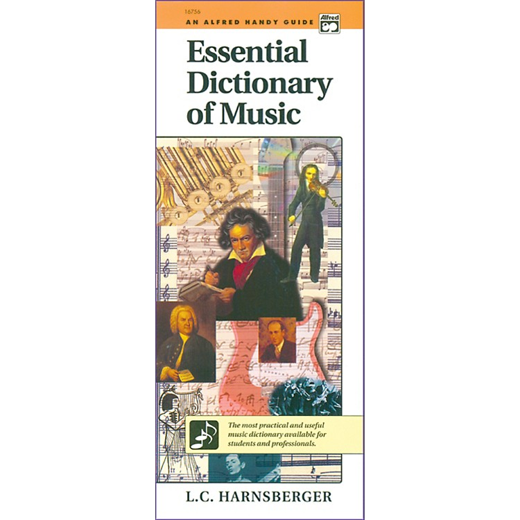 AlfredEssential Dictionary of Music  Handy Guide