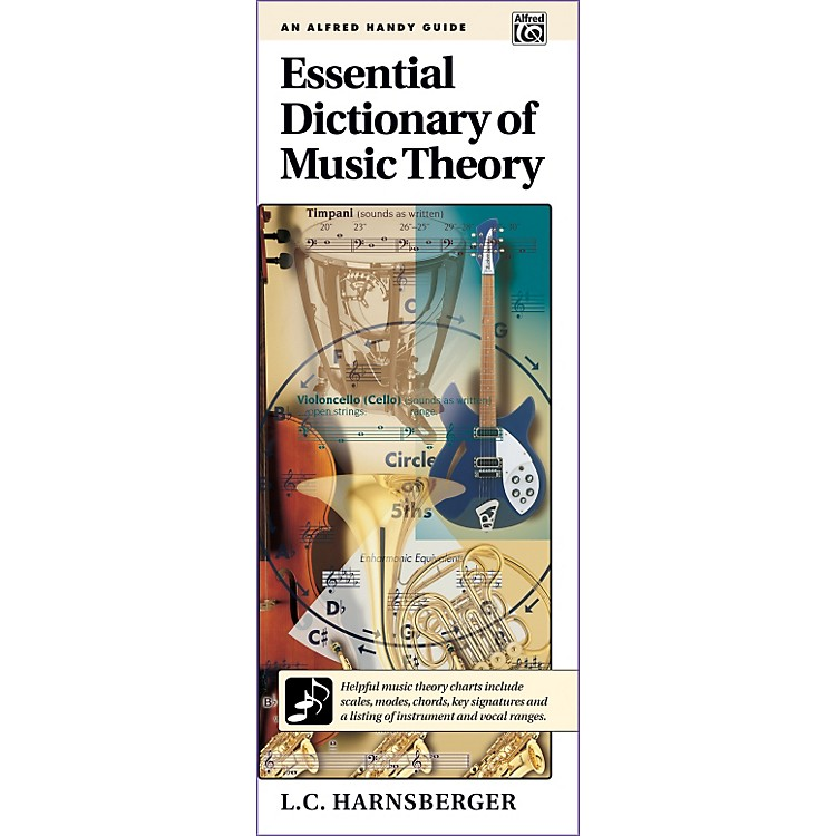 AlfredEssential Dictionary of Music Theory  Handy Guide