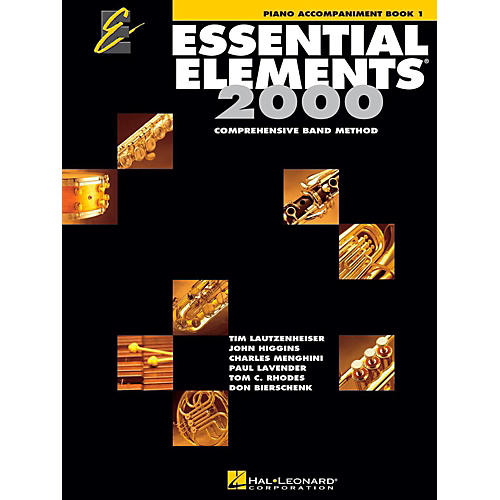 Hal Leonard Essential Elements 2000 for Band - Piano Accompaniment (Book 1)