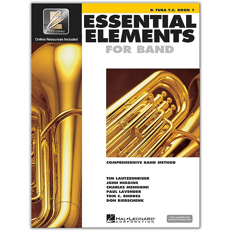 Hal Leonard Essential Elements B Flat Tuba TC Book 1 Book/CD