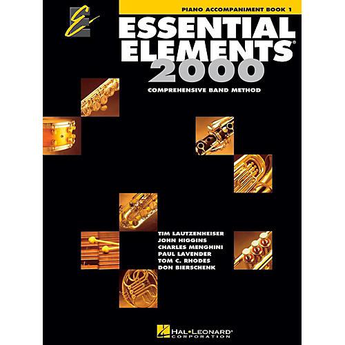 Hal Leonard Essential Elements Band Method Piano Accompaniment Book 1