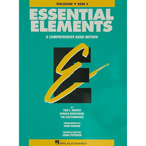 Hal Leonard Essential Elements Book 2 Percussion