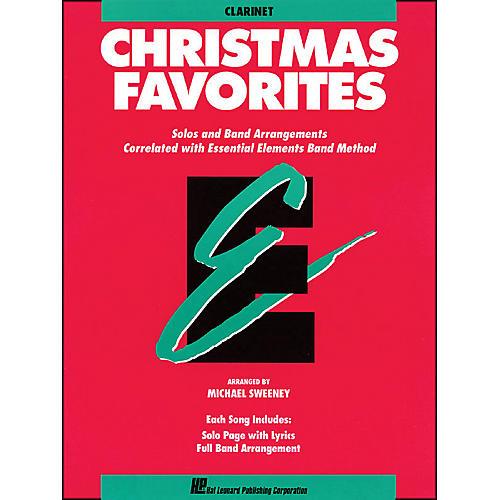 Hal Leonard Essential Elements Christmas Favorites B Flat Clarinet