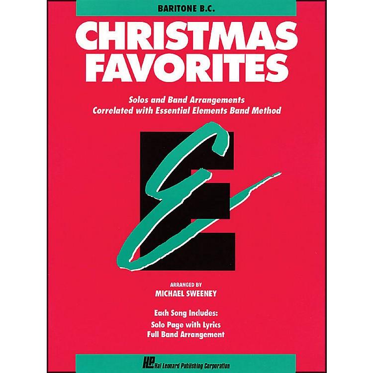 Hal LeonardEssential Elements Christmas Favorites Baritone B.C.