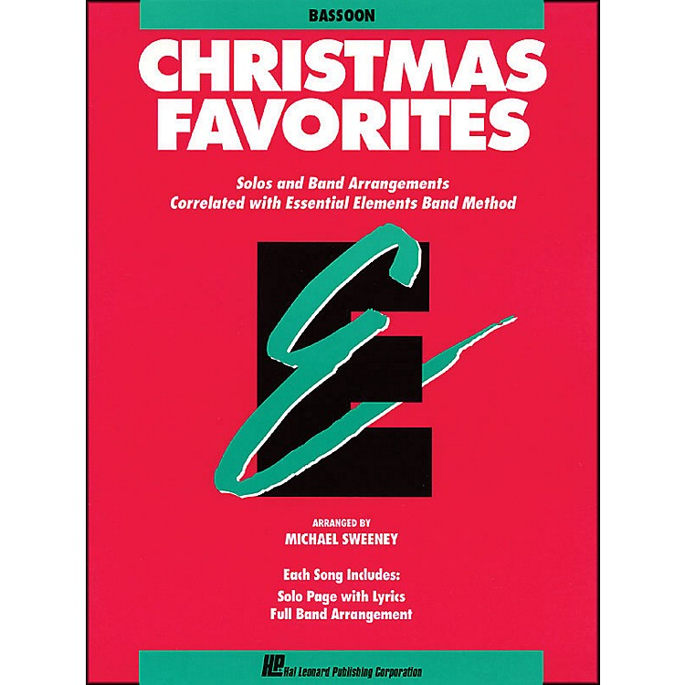 Hal LeonardEssential Elements Christmas Favorites Bassoon
