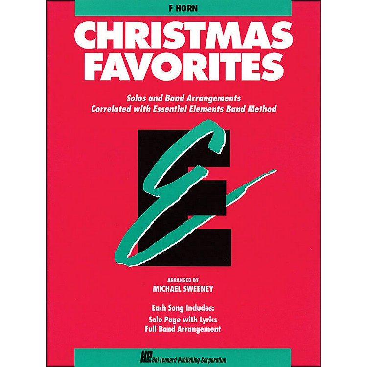 Hal Leonard Essential Elements Christmas Favorites F Horn
