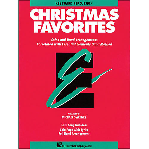 Hal Leonard Essential Elements Christmas Favorites Keyboard Percussion