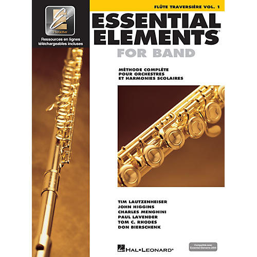 Hal Leonard Essential Elements EE2000 Flute Essential Elements for Band Series Softcover Media Online-thumbnail