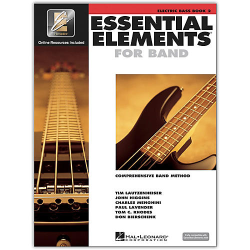 Hal Leonard Essential Elements Electric Bass Book 2 with CD