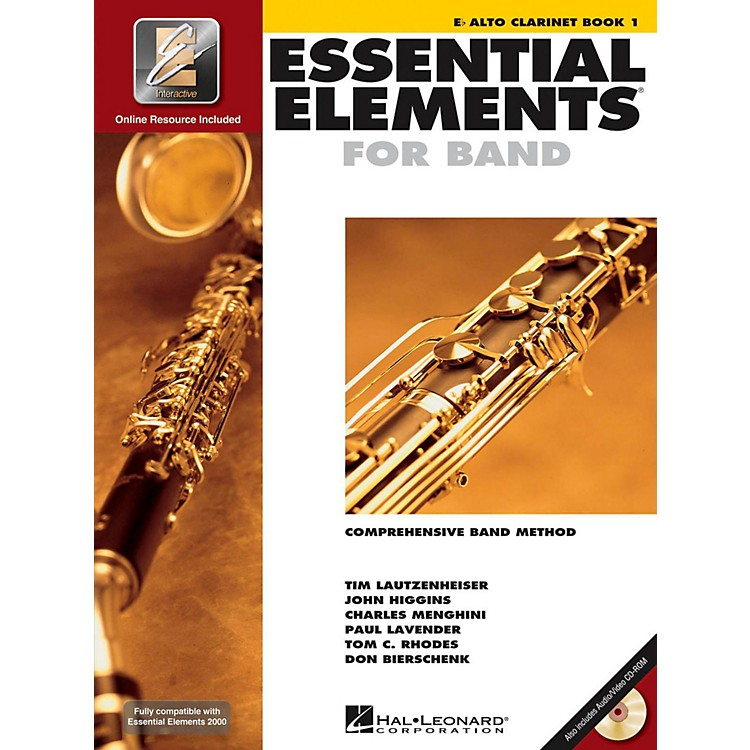 Hal Leonard Essential Elements For Band - Alto Clarinet Book 1 With EEi (Book/CD-ROM)