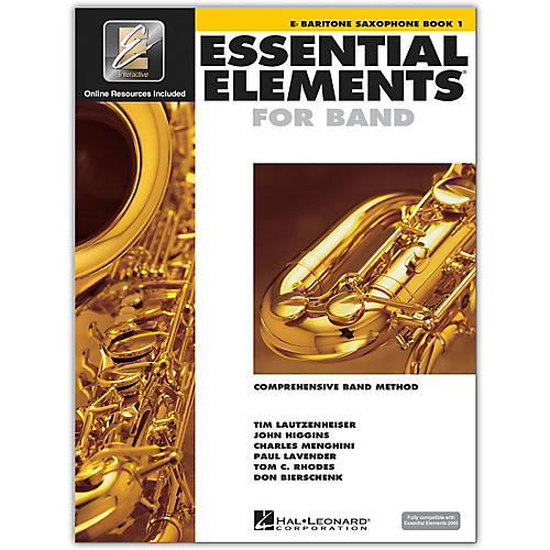 Hal Leonard Essential Elements For Band - Bari Saxophone Book 1 With EEi (Book/CD-ROM)