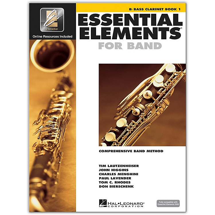 Hal Leonard Essential Elements For Band - Bass Clarinet Book 1 With EEi (Book/CD-ROM)
