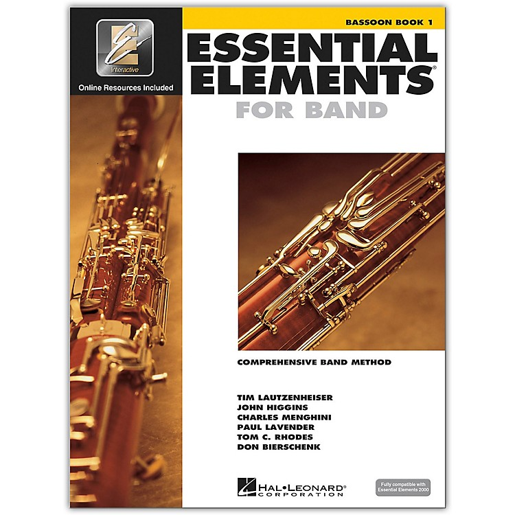 Hal LeonardEssential Elements For Band - Bassoon Book 1 with EEi (Book/CD-ROM)