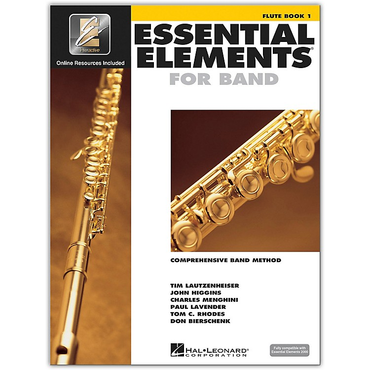 Hal Leonard Essential Elements For Band - Flute Book 1 with EEi (Book/CD-ROM)