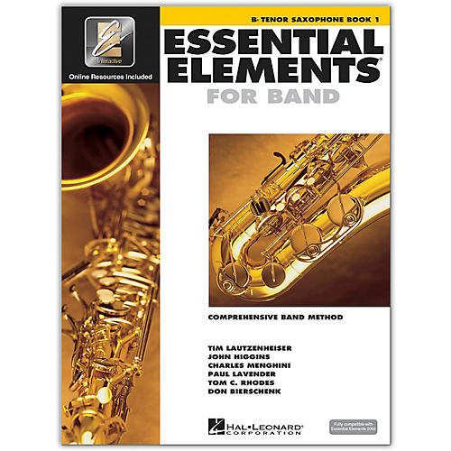 Hal Leonard Essential Elements For Band - Tenor Saxophone Book 1 With EEi (Book/CD-ROM)