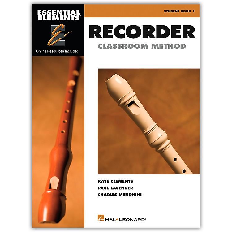 Hal LeonardEssential Elements For Recorder Book/CD Pack