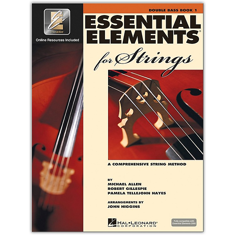 Hal Leonard Essential Elements For Strings - Double Bass Book 1 With EEi (Book/CD-ROM)