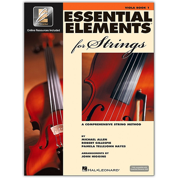 Hal Leonard Essential Elements For Strings - Viola Book 1 With EEi (Book/CD-ROM)