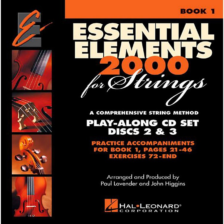 Hal Leonard Essential Elements For Strings Book 1, 2 Cd Set