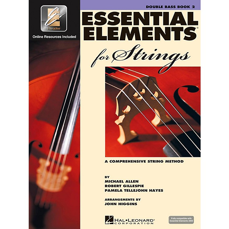 Hal LeonardEssential Elements For StringsBook 2, Bass