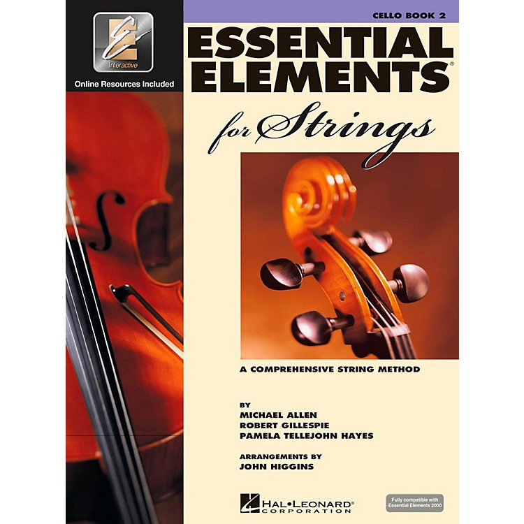 Hal Leonard Essential Elements For Strings Book 2, Cello