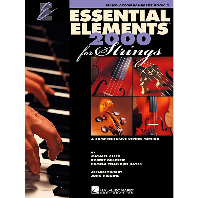 Hal Leonard Essential Elements For Strings Book 2, Piano Accomp