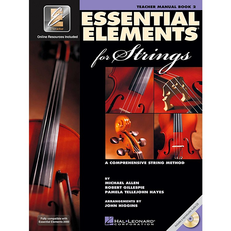 Hal Leonard Essential Elements For Strings Book 1, Teachers Manual