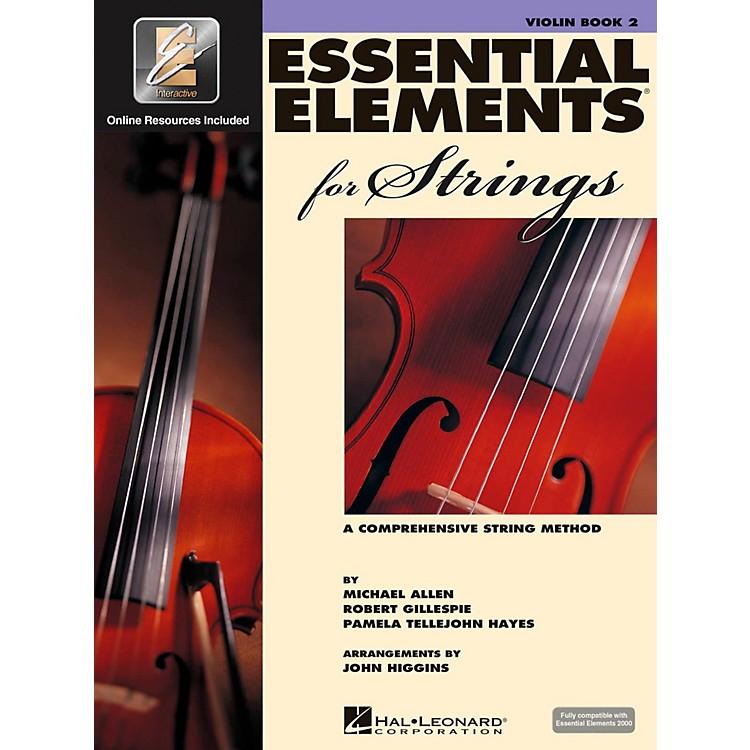 Hal LeonardEssential Elements For StringsBook 2, Violin