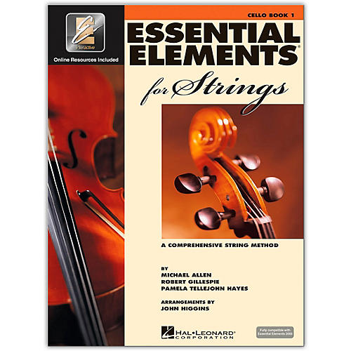 Hal Leonard Essential Elements For Strings Cello (Book 1 with EEi)-thumbnail