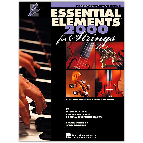 Hal Leonard Essential Elements For Strings Piano Accompaniment (Book 2)-thumbnail