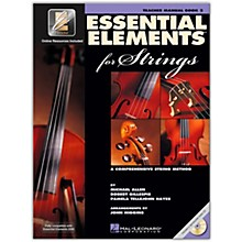 Hal Leonard Essential Elements For Strings Teacher's Manual (Book 2 with EEi and CD)
