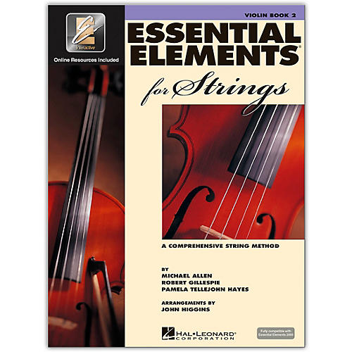 Hal Leonard Essential Elements For Strings Violin (Book 2 with EEi)-thumbnail