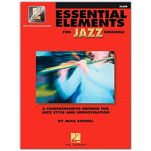 Hal Leonard Essential Elements Jazz Ensemble for Flute (Book w/2 CDs)