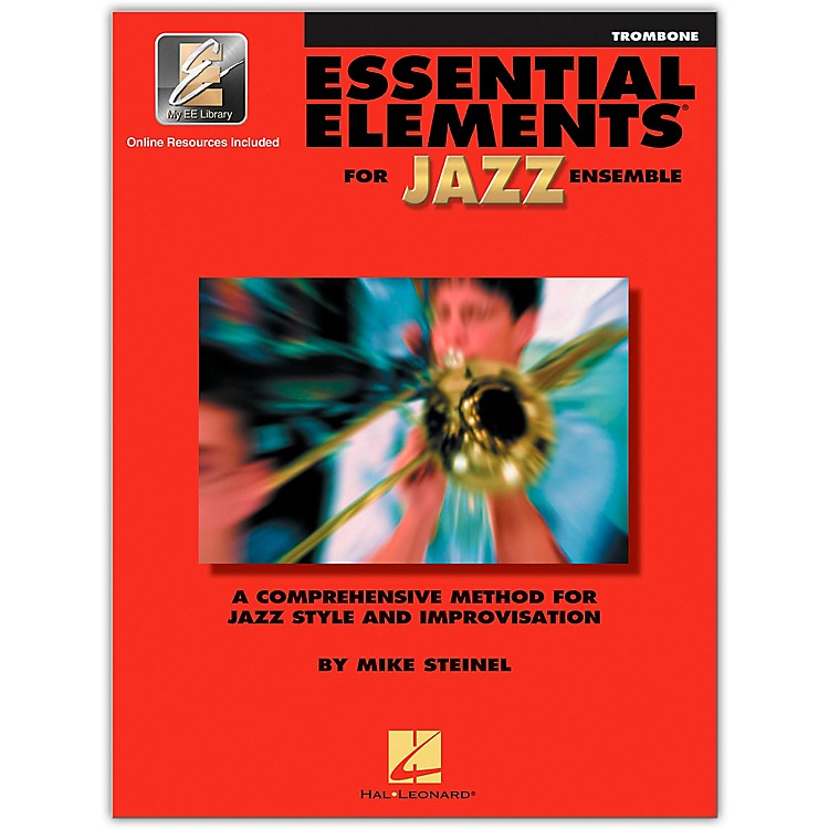 Hal Leonard Essential Elements Jazz Ensemble for Trombone (Book/2 CDs)