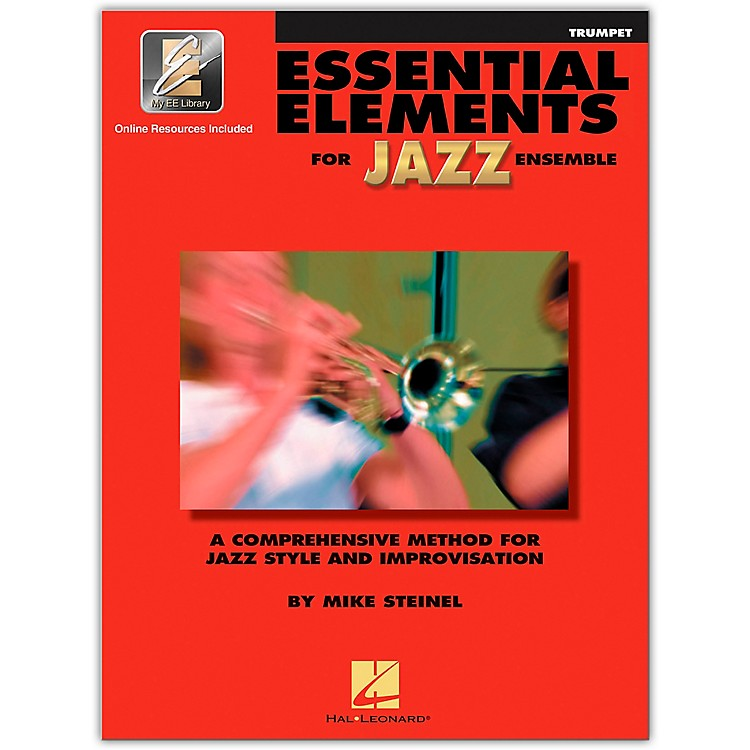 Hal Leonard Essential Elements Jazz Ensemble for Trumpet (Book with 2 CDs)