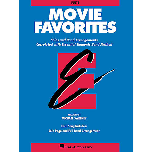 Hal Leonard Essential Elements Movie Favorites Essential Elements Band Folios Series Book by Michael Sweeney-thumbnail