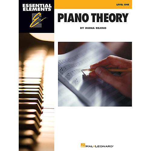 Hal Leonard Essential Elements Piano Theory - Level 1 Educational Piano Library Series Softcover by Mona Rejino-thumbnail