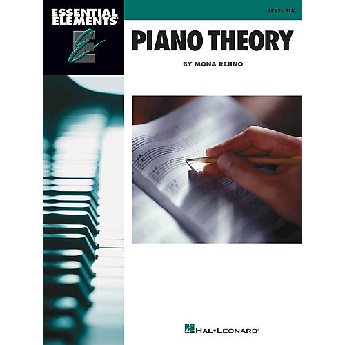 Hal Leonard Essential Elements Piano Theory - Level 6 Educational Piano Library Series Softcover by Mona Rejino-thumbnail