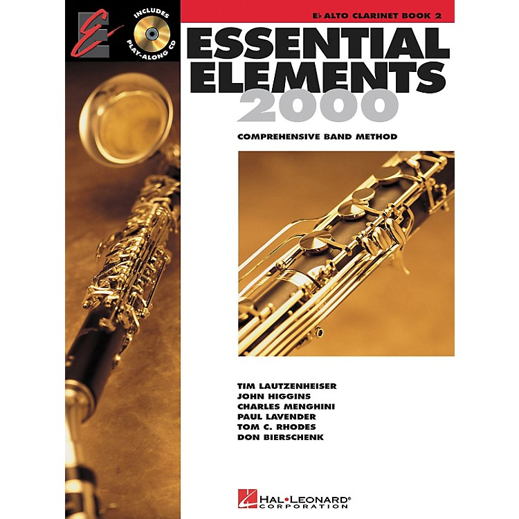 Hal Leonard Essential Elements for Alto Clarinet (Book 2 with CD)