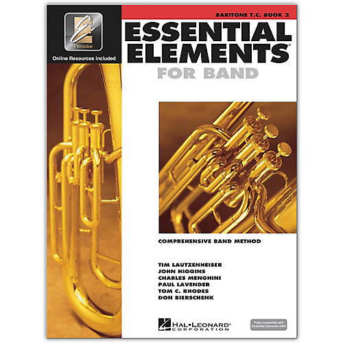 Hal Leonard Essential Elements for Band - Baritone TC Book 2 With EEi