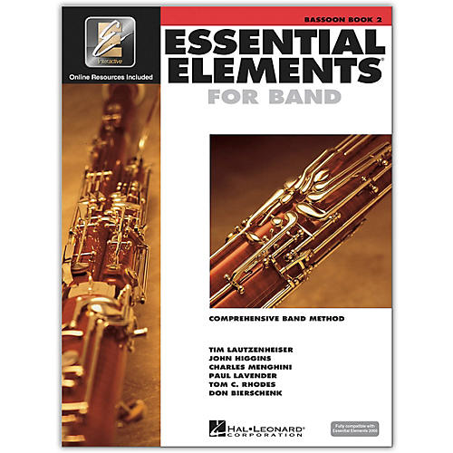 Hal Leonard Essential Elements for Band - Bassoon (Book 2 with EEi)-thumbnail