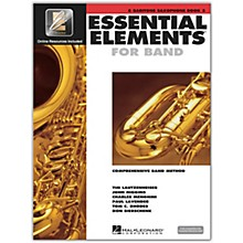 Hal Leonard Essential Elements for Band - Eb Bariton Saxophone 2 Book/Online Audio