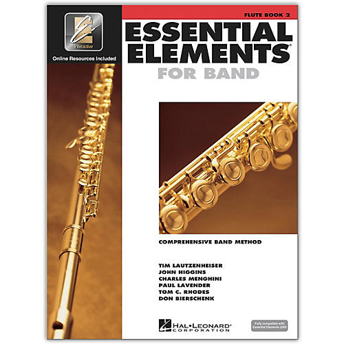 Hal Leonard Essential Elements for Band - Flute Book 2 With EEi