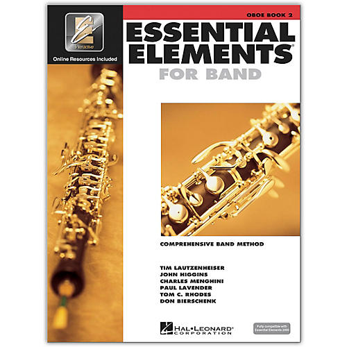Hal Leonard Essential Elements for Band - Oboe Book 2 With EEi