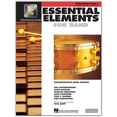 Hal Leonard Essential Elements for Band - Percussion Book 2 With EEi